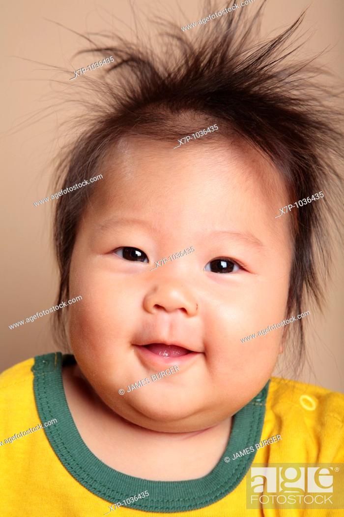 Stock Photo: Asian Baby Girl.