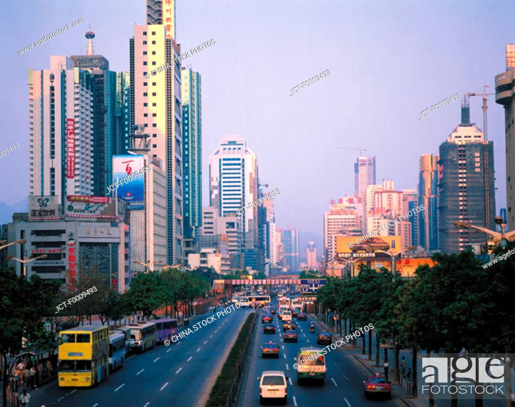 Stock Photo: China, Shenzhen.