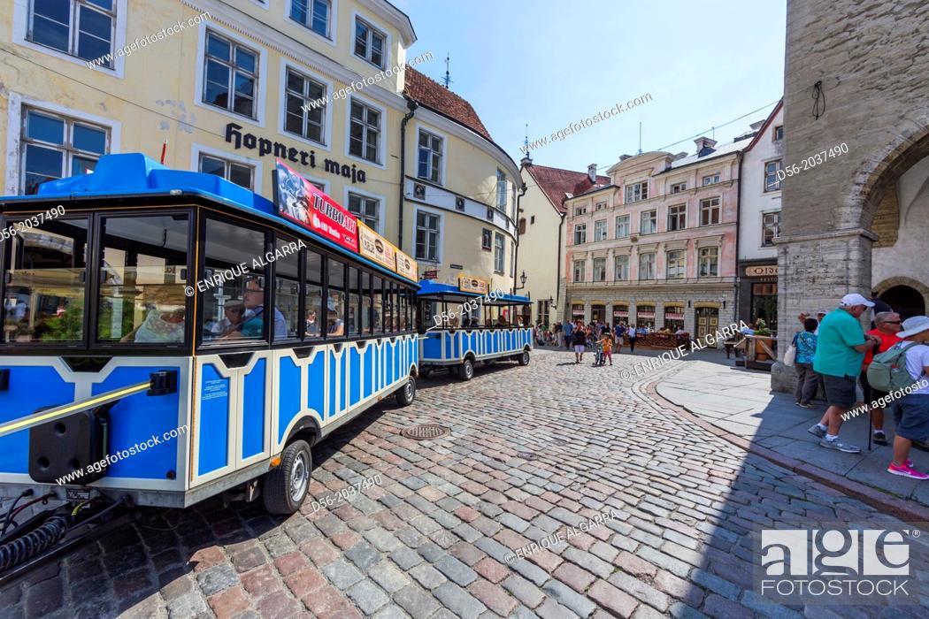 Stock Photo: Old town, Tallin, Estonia.
