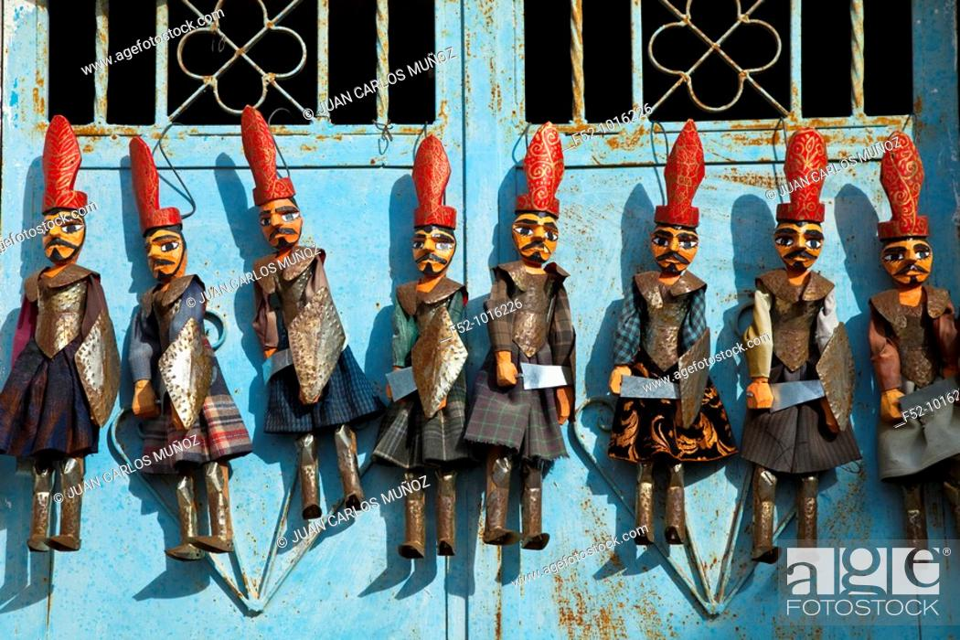 Stock Photo: Handicrafts. El Djem. Tunisia. Africa.