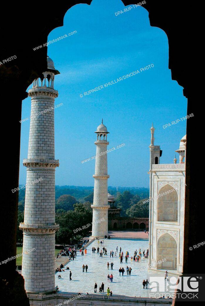 Imagen: Taj mahal, agra, delhi, india, asia.