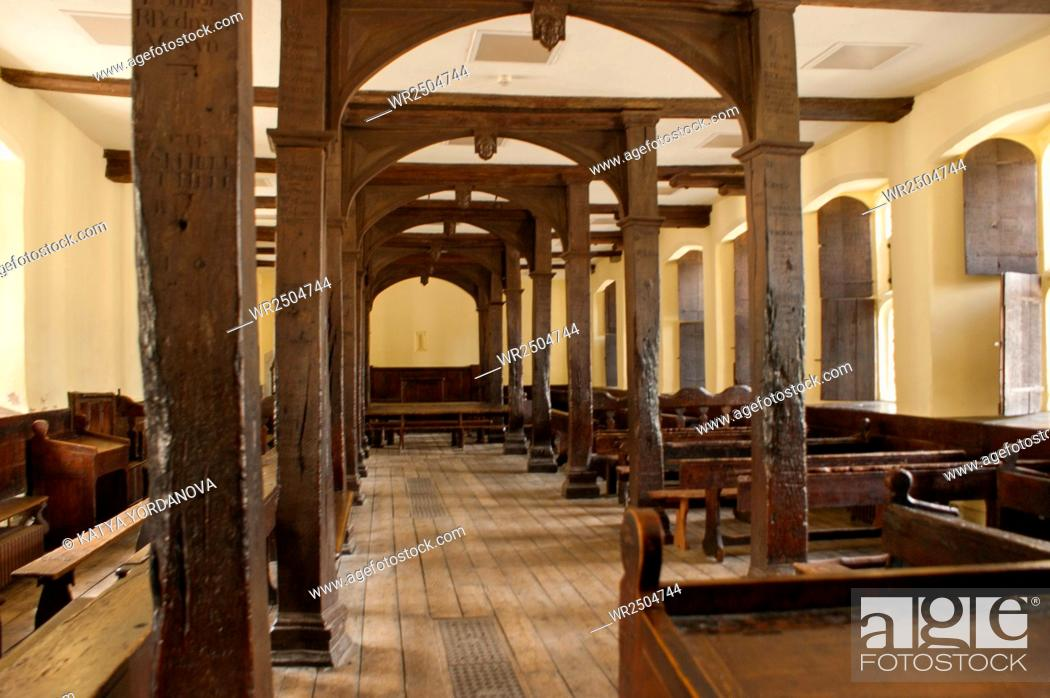 Imagen: Old Classroom in Eton College.