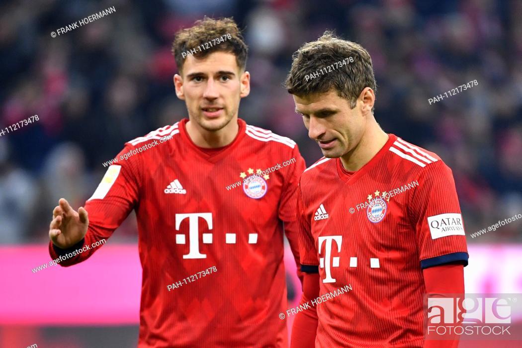 best website def24 9d1b6 Thomas MUELLER (MULLER, Bayern Munich) with Leon GORETZKA ...