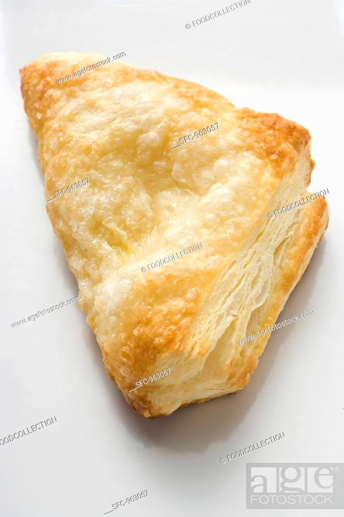 Stock Photo: A puff pastry turnover.