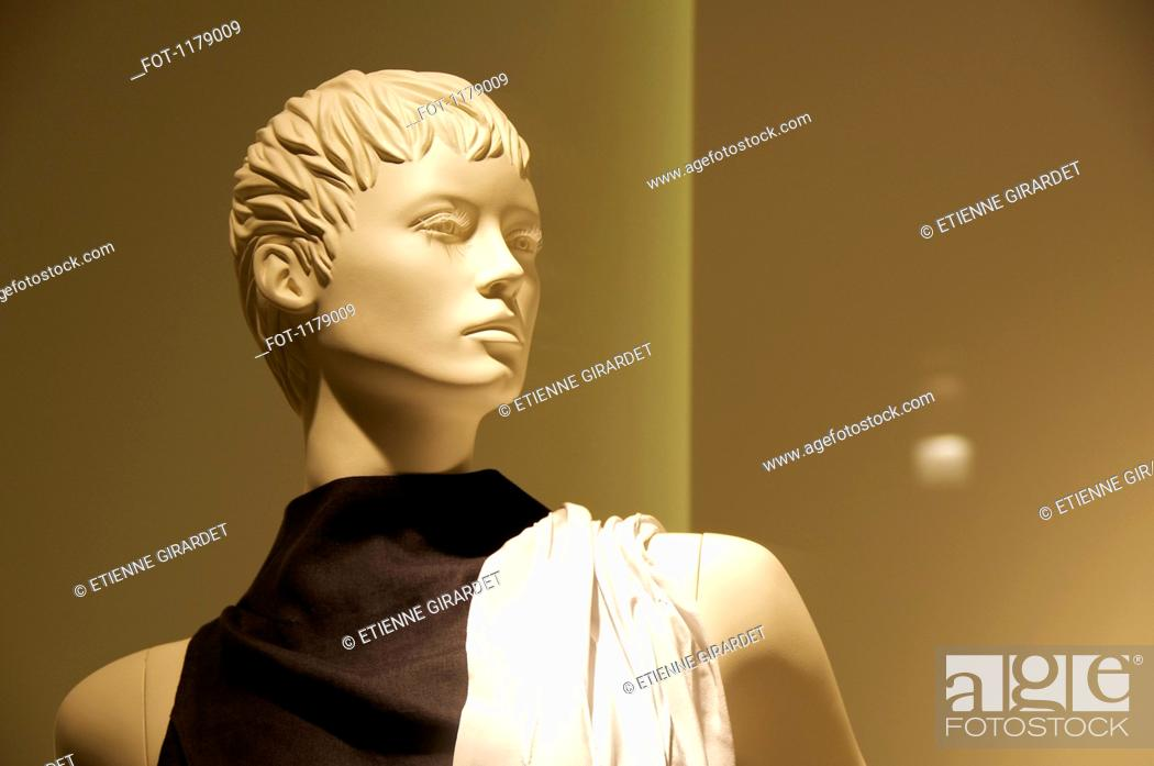 Stock Photo: Mannequin looking into the distance.