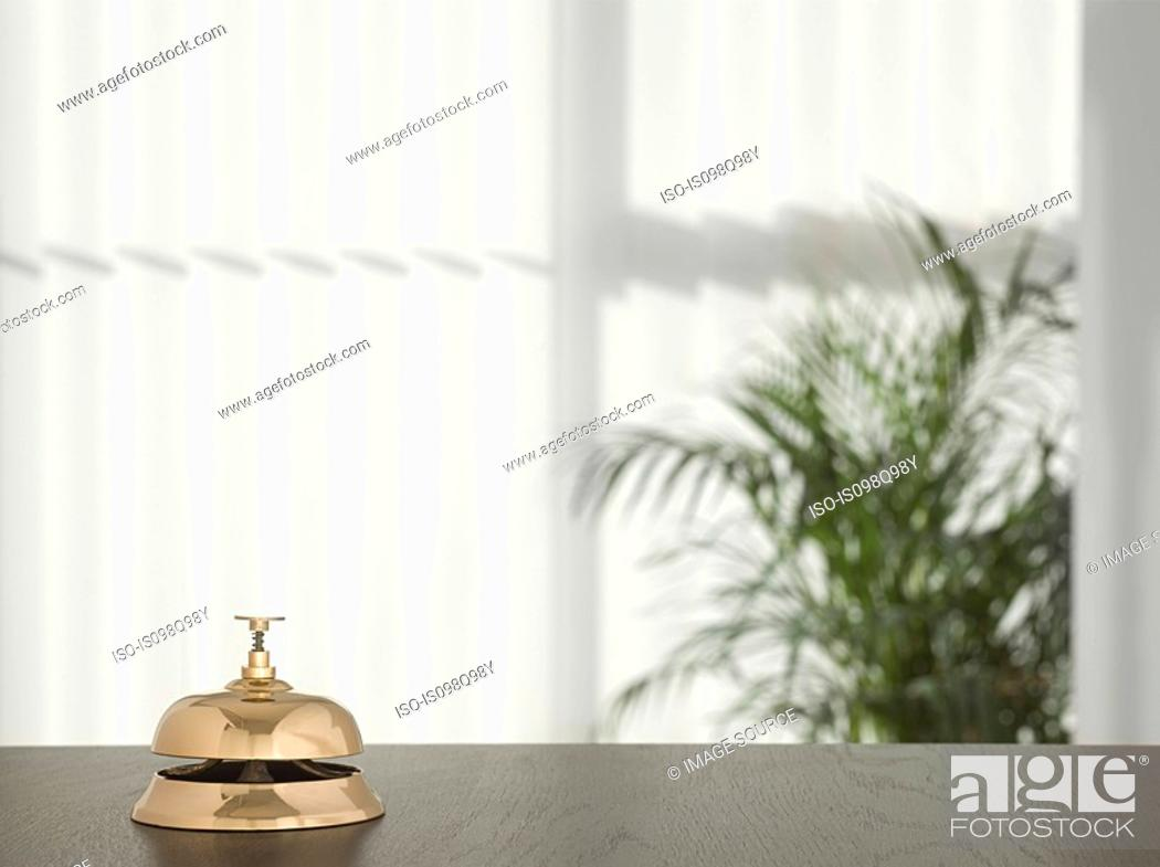 Stock Photo: Service bell in a hotel.