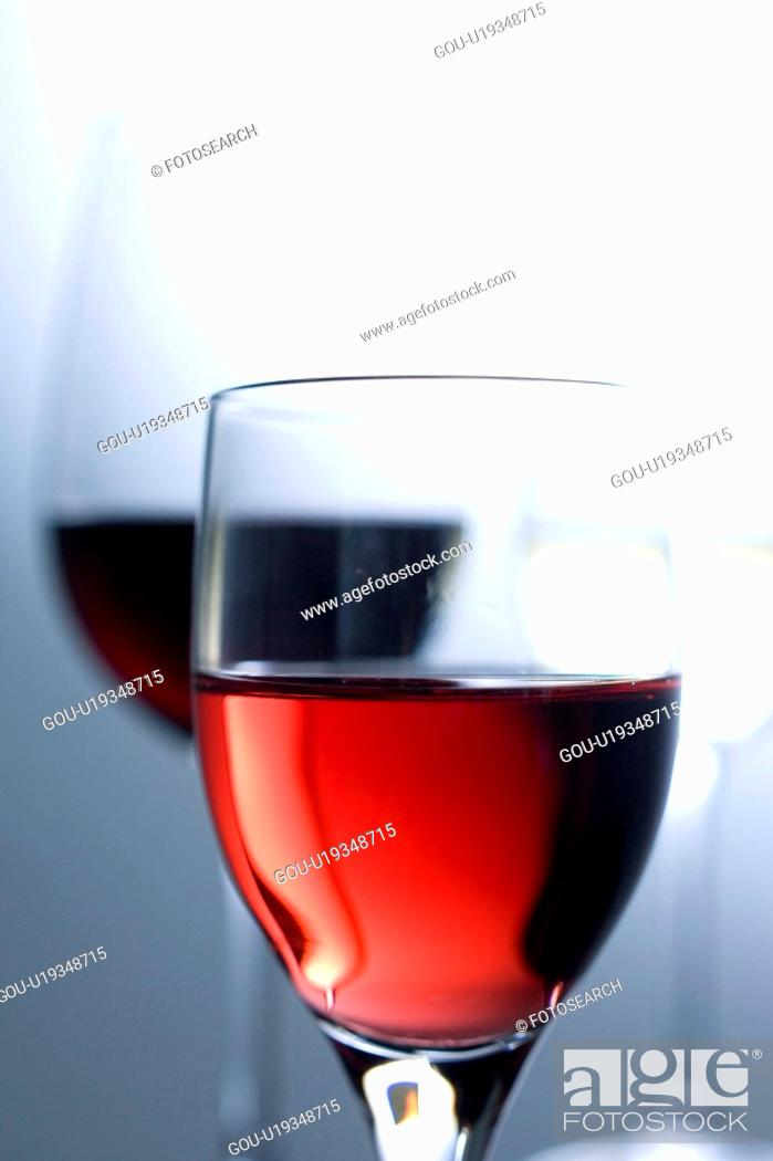 Stock Photo: Close-up of red wine.
