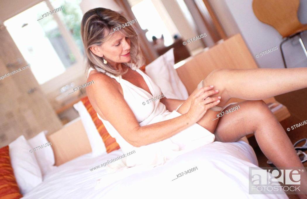 In stockings women mature Alphabetical List