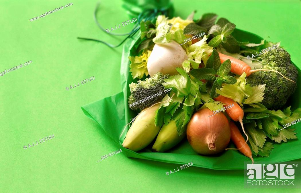 Stock Photo: Vegetables.
