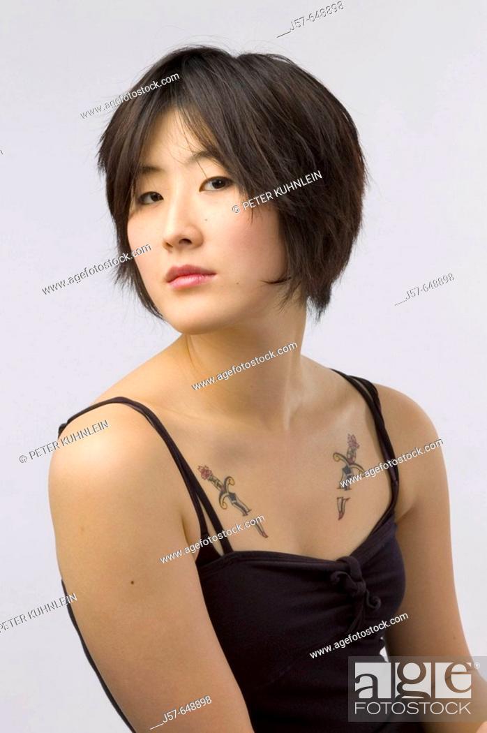Stock Photo: Eanjee Ahn korean college student in washington.