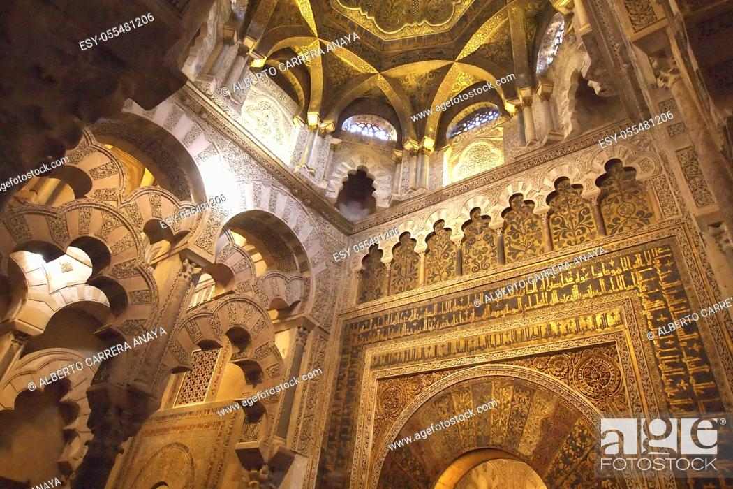 Imagen: Cathedral of our Lady of the Assumption Great Mosque of Córdoba, Cordoba, Andalusia, Spain, Europe.