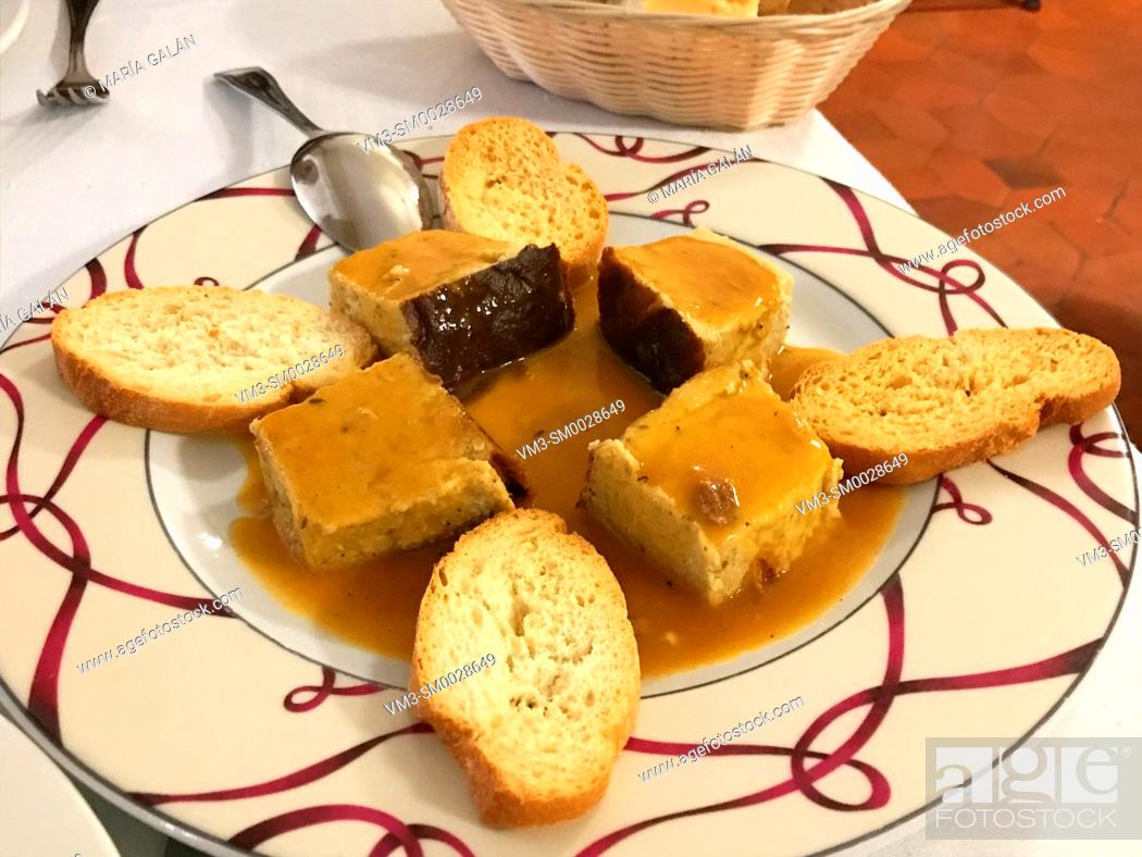 Stock Photo: Pate with sauce. Spain.