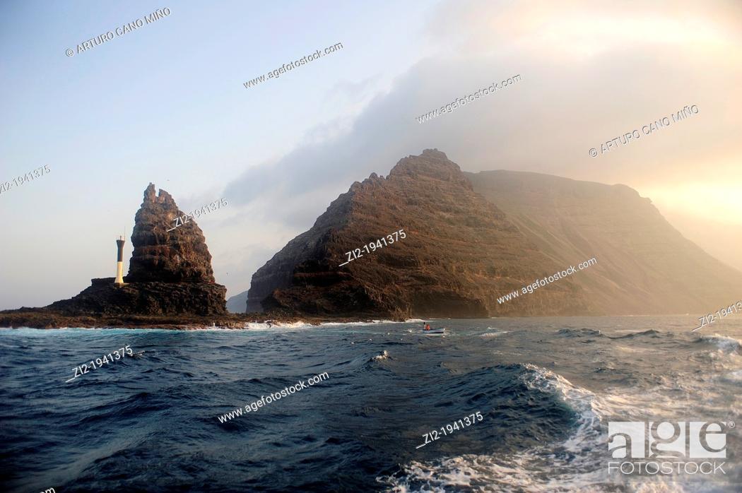 Stock Photo: Punta Fariones in northern Lanzarote. Canary Islands, Spain.