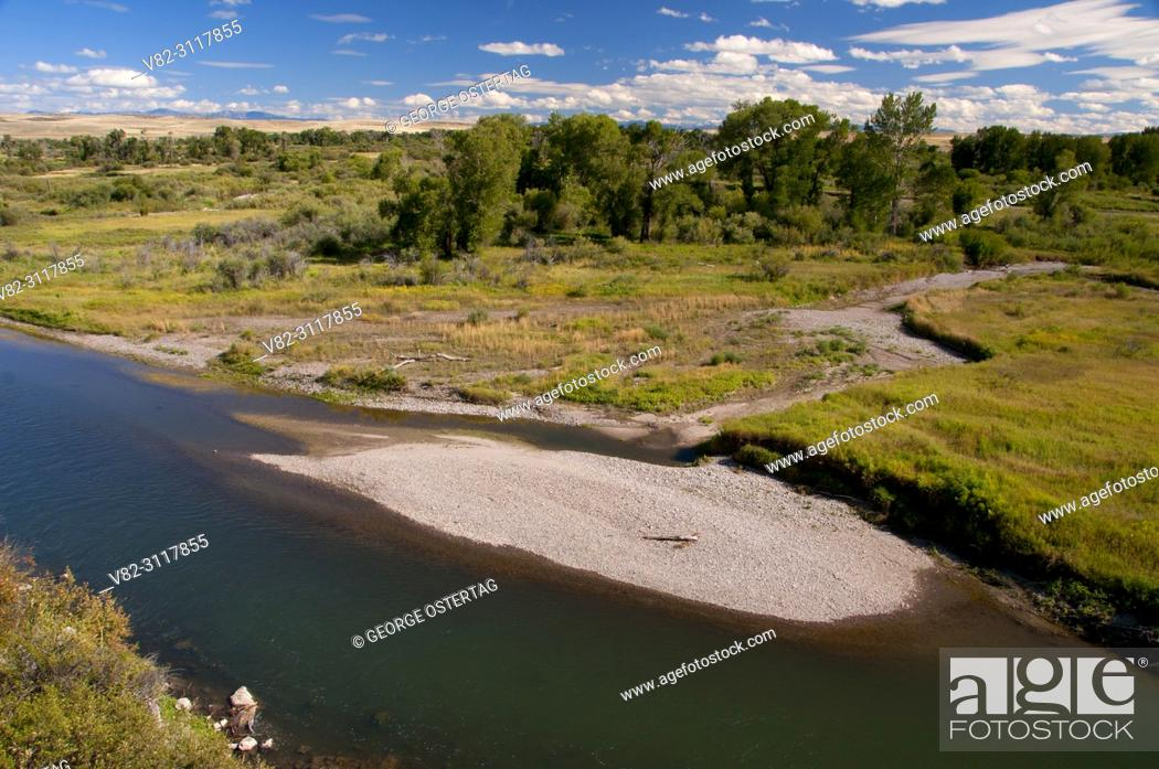 Imagen: Gallatin River from Fort Rock Trail, Missouri Headwaters State Park, Montana.