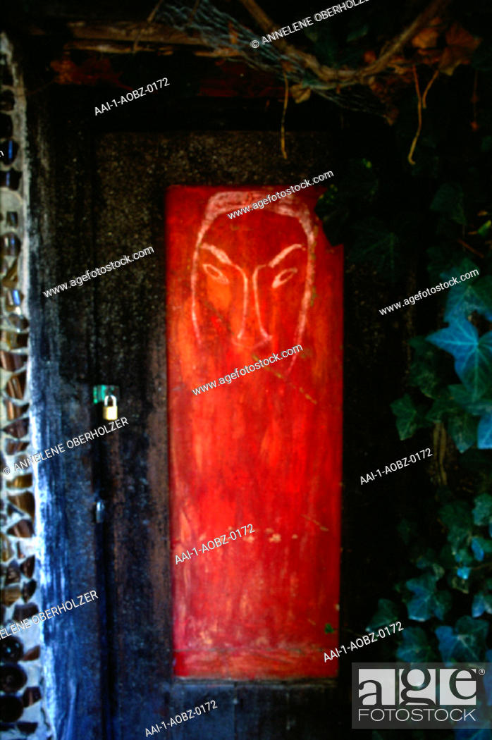 Door, The Owl House, Nieu-Bethesda, Eastern Cape, South