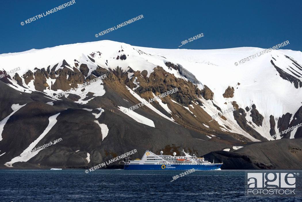 Imagen: MS Ocean Diamond, expedition cruise ship.