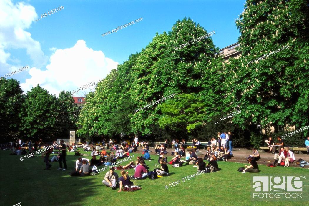 Stock Photo: Germany - Berlin - Humboldt University.