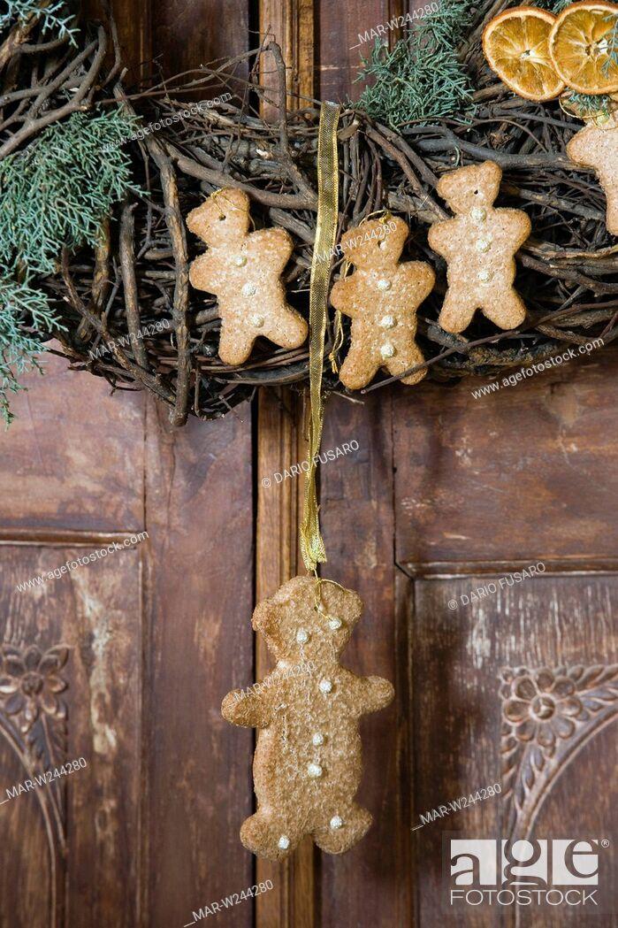 Stock Photo: decorazioni natalizie.