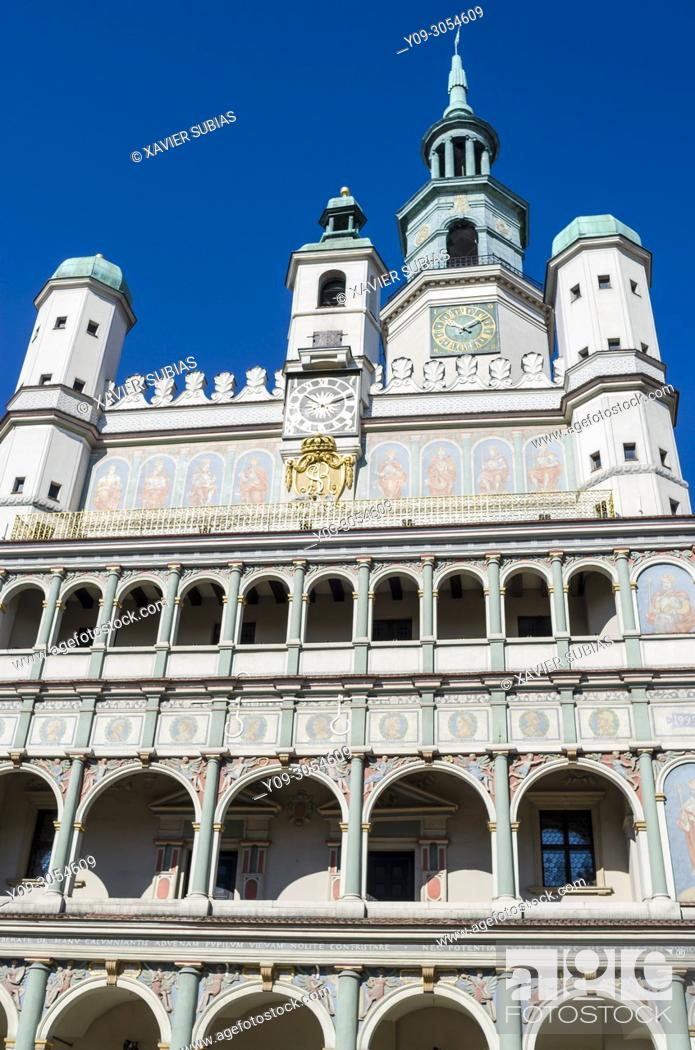 Imagen: Town Hall, Poznan, Poland.