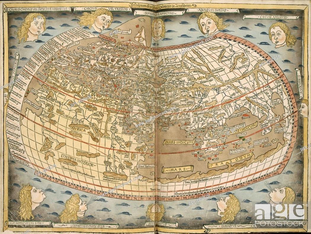 Ptolemy's World Map  Image taken from Map of the Ancient World
