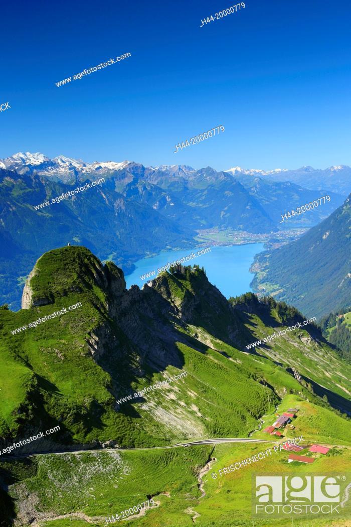 Imagen: Brienzer Rothorn mountain, Bernese Oberland, Switzerland,.
