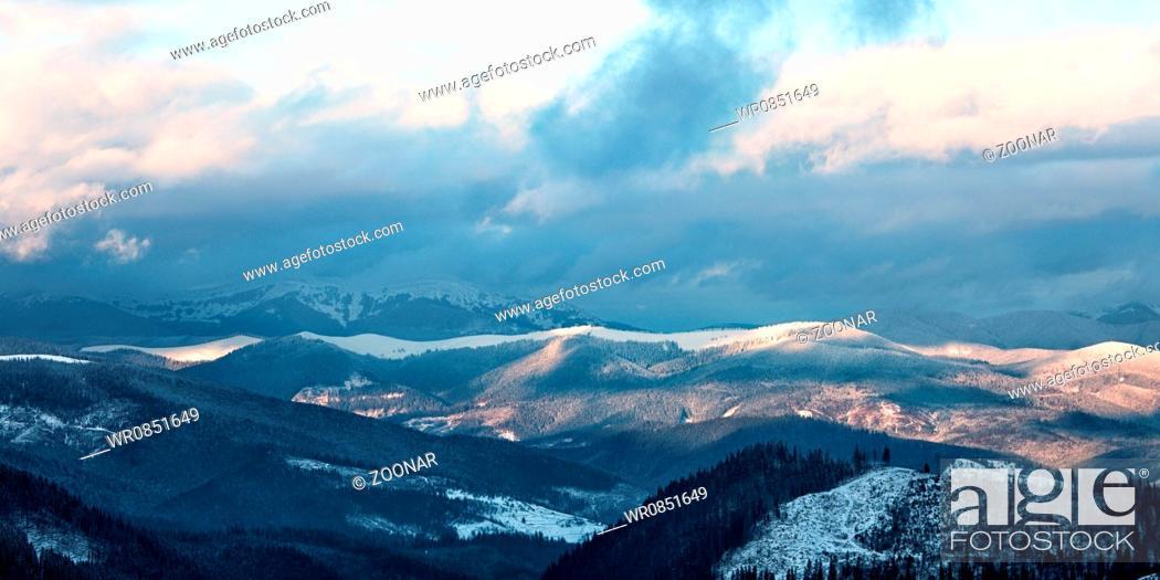 Stock Photo: Great Smoky Mountain.