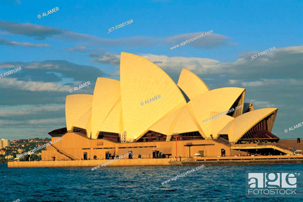 Stock Photo: Australia, Sydney Opera house.