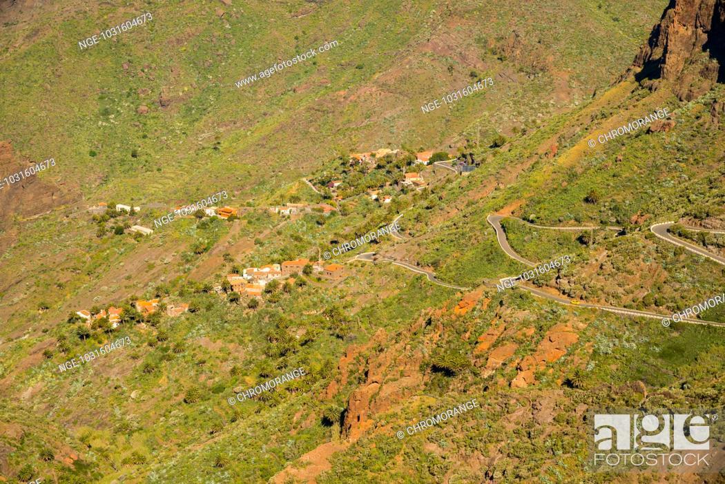 Stock Photo: Bergdorf Masca, Teno-Gebirge, Teneriffa, Kanarische Inseln, Spanien, Europa.