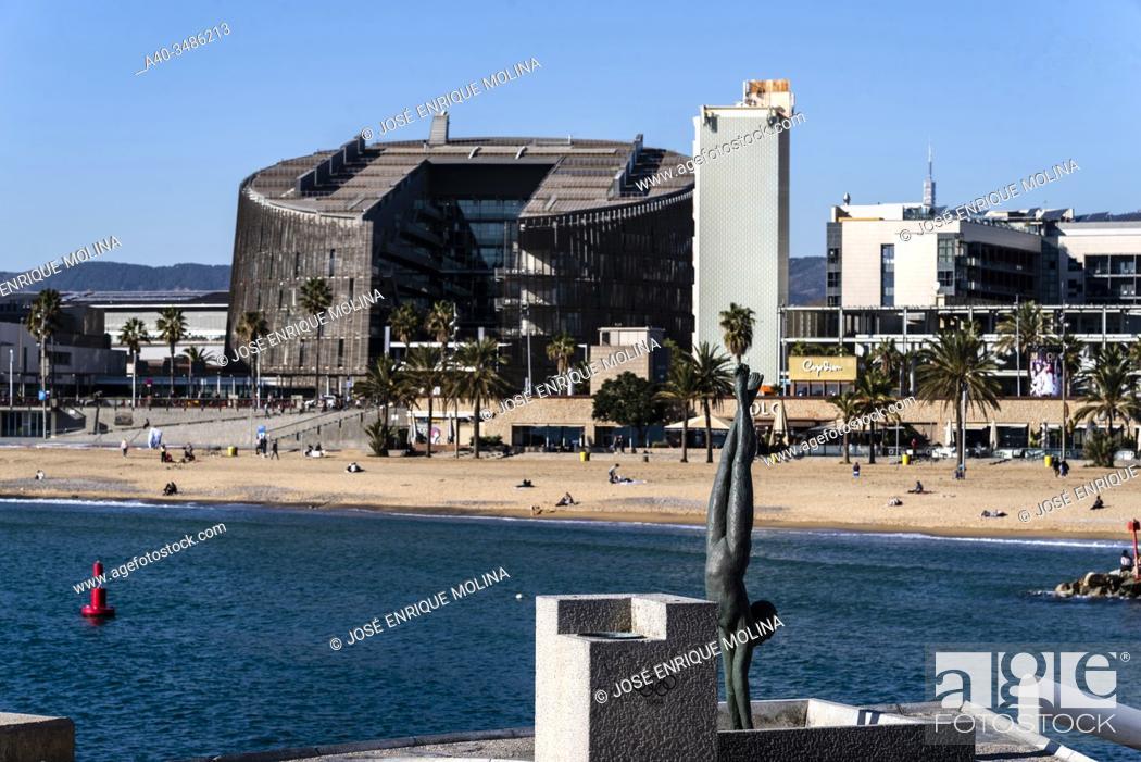 Stock Photo: Olympic port of Barcelona, Catalonia, Spain.