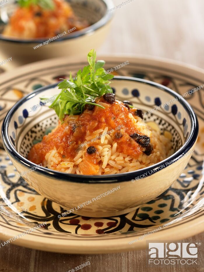 Stock Photo: arroz mufalfal.