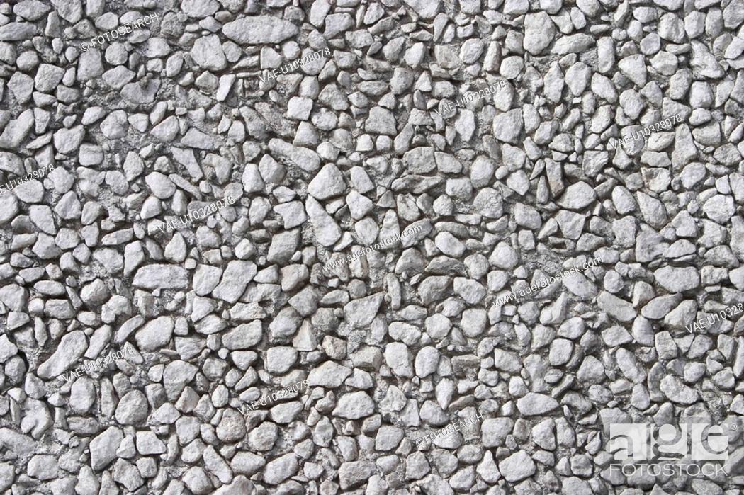 Stock Photo: rocks, stones, rocky, pebbles, surface, texture.