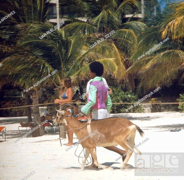 Imagen: Reise in die Karibik, 1970er Jahre. Journey to the Caribbean, 1970s.