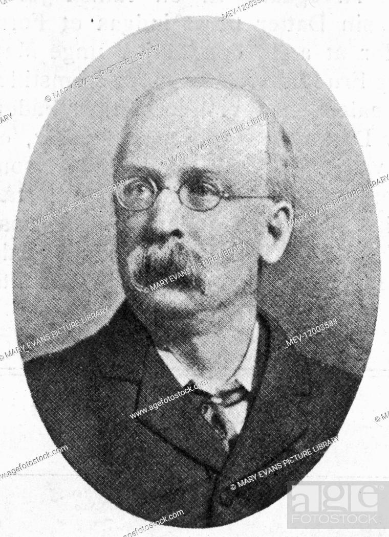 Stock Photo: EBENEZER HOWARD Reformer and originator of the concept of the garden city.