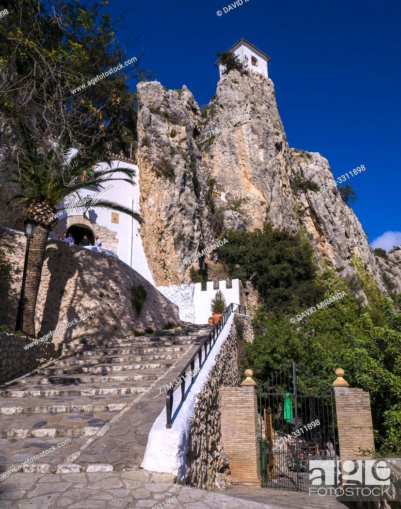 Imagen: Castillo de la Alcozaiba. El Castell de Guadalest. Alicante. Valencian Community, Spain.