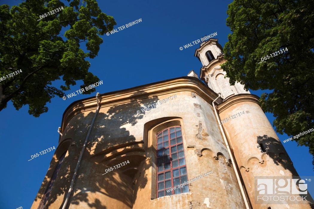 Stock Photo: Lithuania, Vilnius, Greek-Catholic Church of the Holy Trinity.