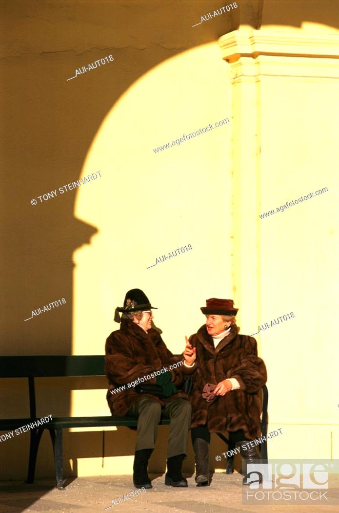 Stock Photo: Austria - Vienna - Winter.