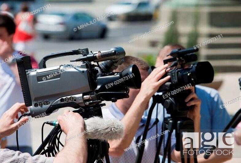 Imagen: video camera.