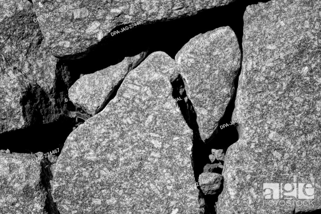 Imagen: Stones abstract, Kaysersberg, Alsace, France, Europe.