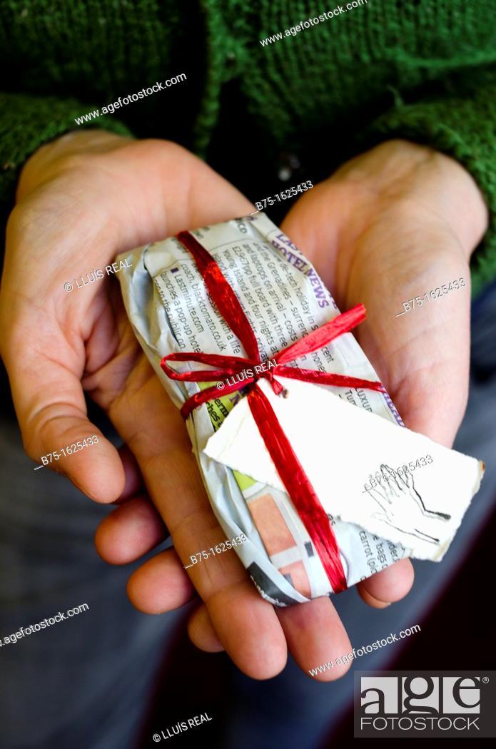 Stock Photo: Gift.