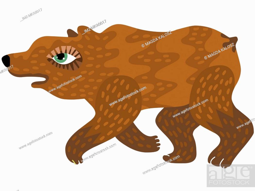 Imagen: A brown bear.