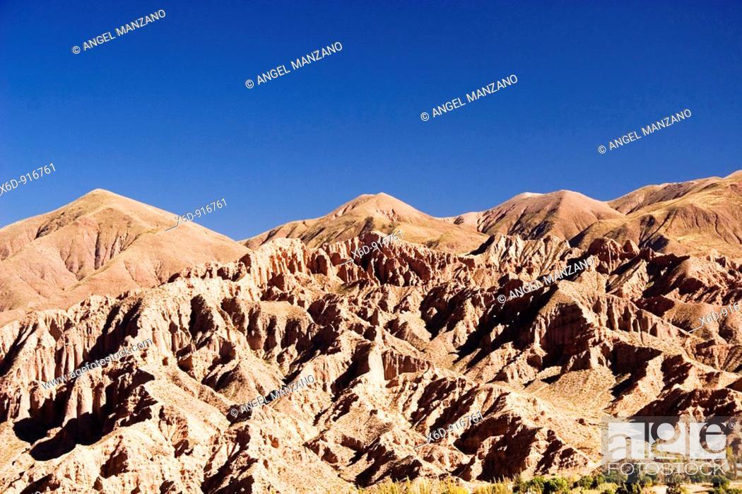 Stock Photo: Humahuaca gully, Jujuy, Argentina.