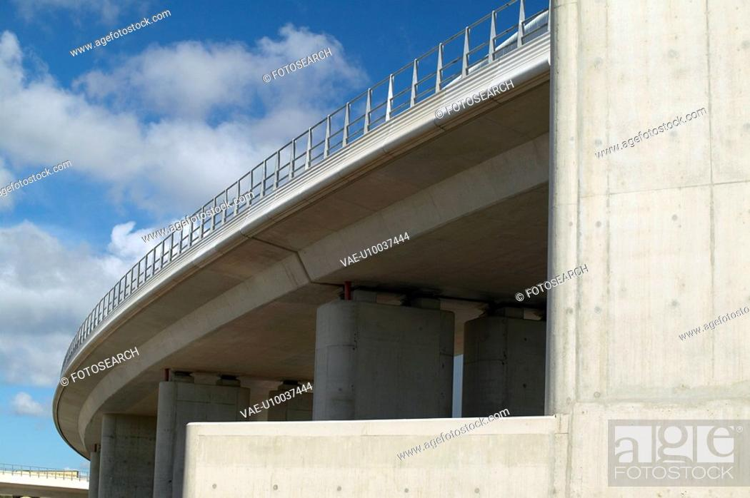Stock Photo: Detail of a flyover.