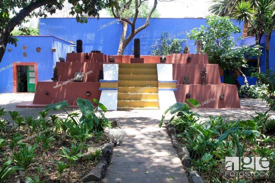 Imagen: Casa Frida Kahlo. Mexico City.