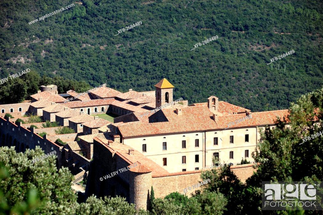 Stock Photo: Collobrieres, Monastere de la Verne, Massif des Maures, Var, Provence-Alpes-Côte d'Azur, France.