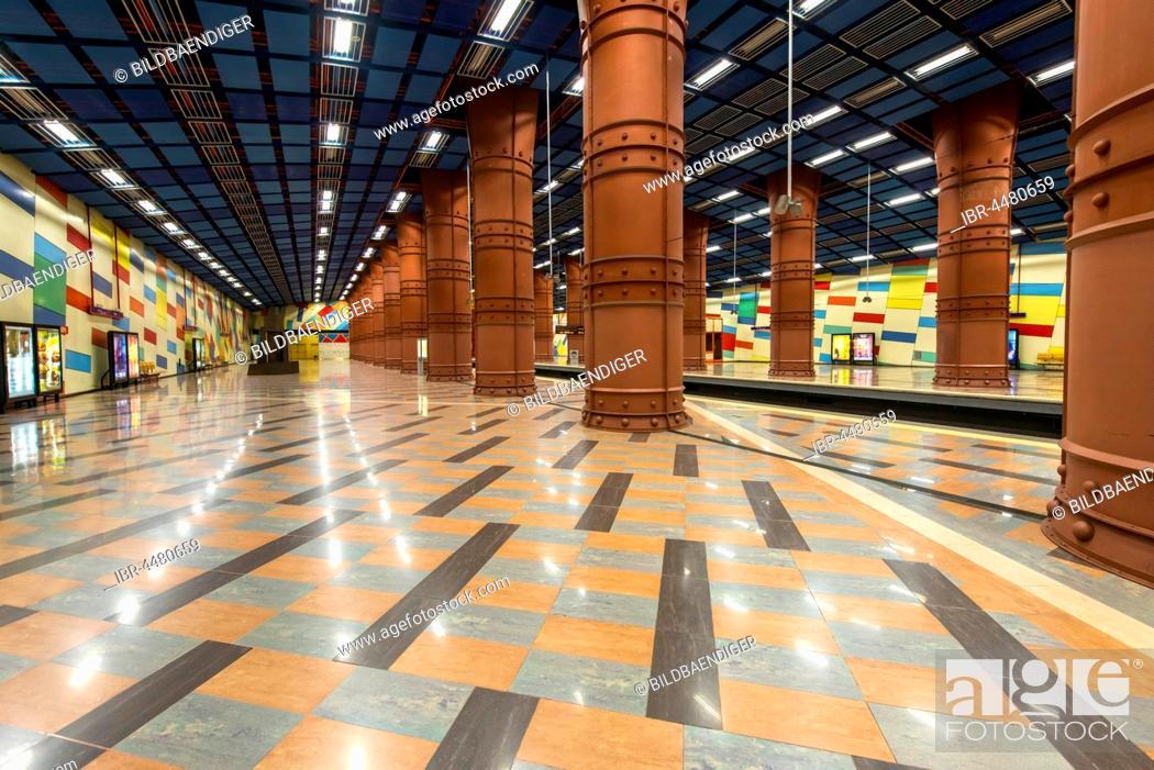 Photo de stock: Subway station Olaias, Lisbon, Portugal.