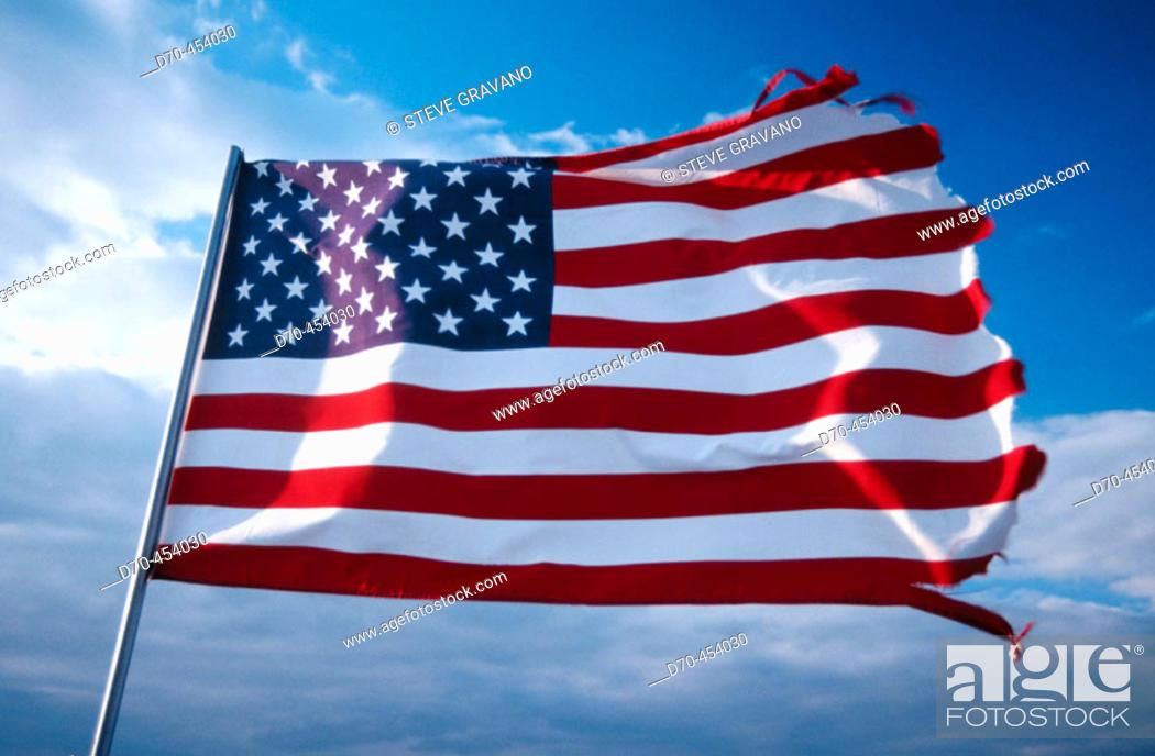 Photo de stock: American flag.