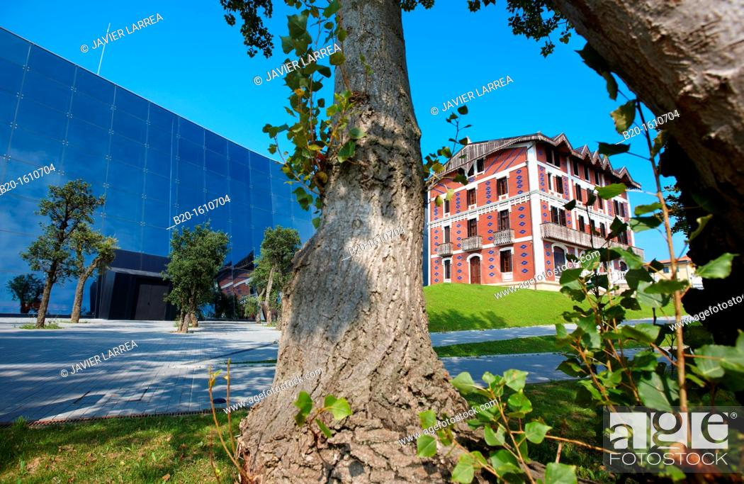 Stock Photo: Cristobal Balenciaga Museoa, Balenciaga Museum, Getaria, Gipuzkoa, Basque Country, Spain.