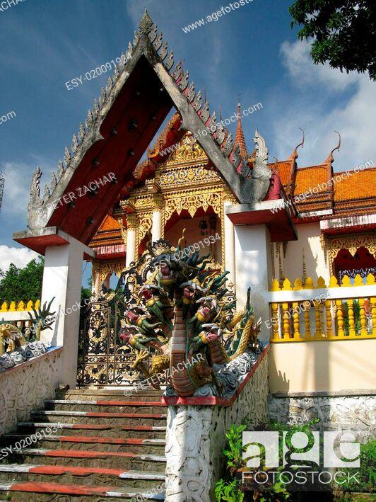 Imagen: Thailand temple, Asia.