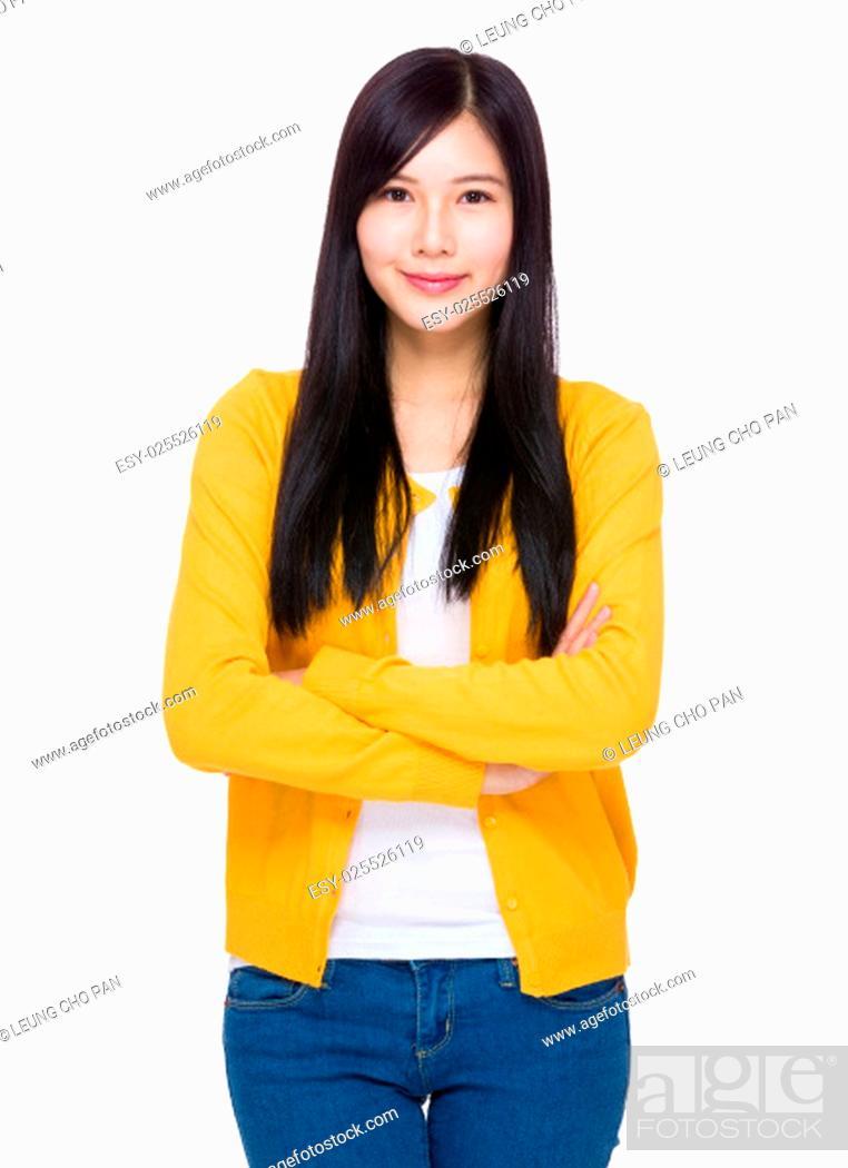 Stock Photo: Asian Woman portrait.
