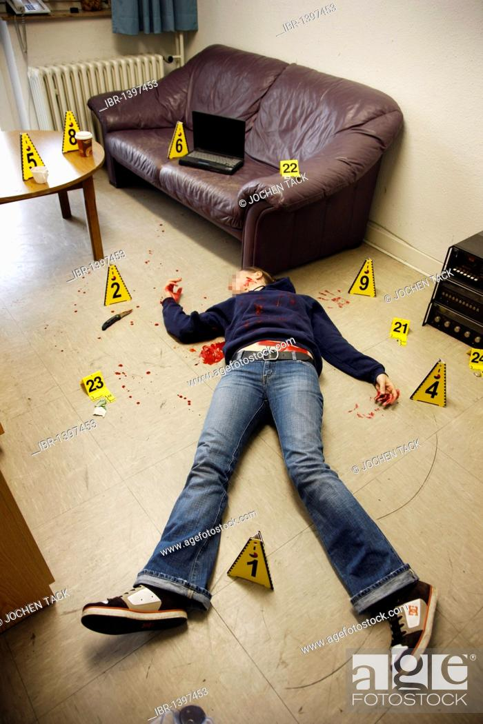Securing Forensic Evidence At A Crime Scene After A Capital Offence Homicide By The C Stock Photo Picture And Rights Managed Image Pic Ibr 1397453 Agefotostock